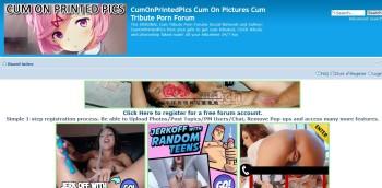 CumOnPrintedPics